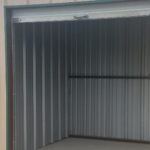 Inside view of a storage unit
